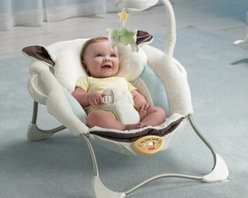 Fisher-Price My Little Lamb Infant Seat - New parents take our word for it: nothing makes parenting easier than a quality comfortable infant seat and the Fisher-Price My Little Lamb Infant Seat delivers. Vibrations calm even the fussiest of babies who will love to stare at themselves in the mirror overhead. Your baby may display her first signs of eye-hand coordination by batting the toy lamb which jingles as a reward. Cuddly fabrics contour to baby's head neck and sides so she doesn't slump over. Best of all you'll have your hands free again! This lightweight seat also folds flat for portability so you can take it along to Grandma's or haul it to the bathroom so you can finally shower.Additional Features for Baby: Soothing music helps calm baby and promotes a sense of securitySeeing baby's own reflection in the mirrored dome encourages self-recognitionPlush fabric feels just like lamb's wool to delight baby's tactile sense and provide a sense of comfortable securityEight songs strengthen baby's auditory skillsDangling lamb toy for baby to bat around improves eye-hand coordinationVibrating seat calms even fussy infantsAdditional Features for Mom and Dad:Seat has adorable lamb ears and a safety harnessMachine washable padToy arm easily pops out for access to babyFolds flat so you can take it anywhere your baby might need to sit& so everywhere!Choose music vibrations or bothBattery operated - requires 3 C batteries (not included)Weight capacity: 25 lbs.Developmental Guidelines:Use from birth until baby is able to sit upright unassisted.About Fisher-PriceAs the most trusted name in quality toys Fisher-Price has been helping to make childhood special for generations of kids. While they're still loved for their classics their employees' talent energy and ideas have helped them keep pace with the interests and needs of today's families. Now they add innovative learning toys toys based on popular preschool characters award-winning baby gear and numerous licensed children's