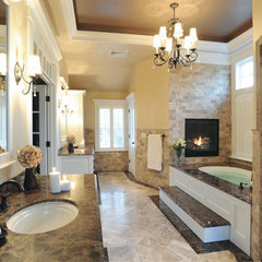 mediterranean bathroom tile by CheaperFloors