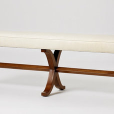 Traditional Upholstered Benches by Jan Showers