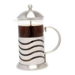 LaCafetiere Wave Coffee Press - Modern styling