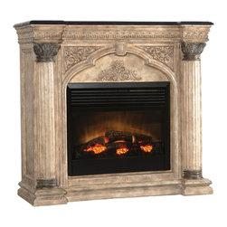 Ambella Home - New Ambella Home Electric Fireplace Black - Product Details