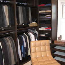 Contemporary Closet Organizers by John Manidis, Top Shelf Closets