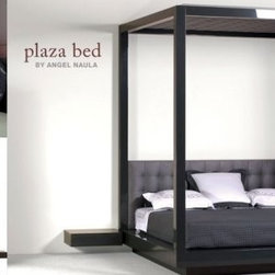 Plaza Bed - Boasting grand and spectacular dimensions, this flagship bed is a modern yet not overstated take on the classic four-post bed. A focal point for any space, it is the pinnacle of sophistication and elegance in the Naula collections.