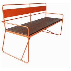 Contemporary Outdoor Benches by haskell