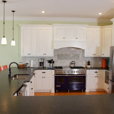 Tropical Kitchen by CRG Construction