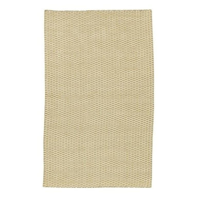 Surya - Jute Woven JS-4 Rug in Natural with Woven Diamond Pattern (5' x 8') - Choose size: 5 ft. x 8 ft.. Hand woven. Made in India. Casual style. 100% Natural Jute
