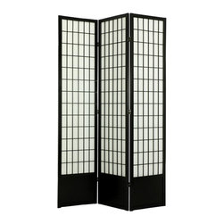 Oriental Unlimited - Window Pane Room Divider - 78 inch - TWPSS-NATURAL-3_PANEL - Shop for Room Dividers from Hayneedle.com! What We Like About the Tall Window Pane ScreenDifficult to find in the USA our extra tall 78-inch (6 1/2 feet) Window Pane room dividers have a kick plate at the bottom to protect the shade from scuffs. Great for rooms with high ceilings for a more substantial feeling or where greater privacy is preferred. Choose from 3 to 6 panels and several color options for your personal display preference. Fold and adjust to achieve the most attractive look for your room. Overall sizes listed are approximate.Sizes3 Panel - (Approximate) Overall Size Dimensions: 54.5W x .75D x 78H inches4 Panel - (Approximate) Overall Size Dimensions: 73W x .75D x 78H inches5 Panel - (Approximate) Overall Size Dimensions: 91.5W x .75D x 78H inches6 Panel - (Approximate) Overall Size Dimensions: 110W x .75D x 78H inchesIndividual panels are approximately 17.5 inches wide x 78 inches tall.