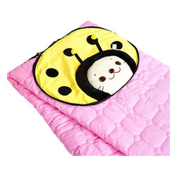 "Blancho Bedding - [Sirotan - Ladybug Yellow]Blanket Pillow Cushion / Travel Blanket (39.4""-59.1"") - The Coral Fleece Throw Blanket Pillow Cushion / Travel Pillow Blanket measures 39.4 by 59.1 inches for blanket/quilt. The shell is embellished with details of embroidery and applique. Use it as a cushion while folded and zippered, and as a blanket/quilt while opened. Zipper on side, that is where the blanket/quilt can be stored. Whether you are adding the final touch to your bedroom or rec-room, these patterns will add a little whimsy to your decor. Machine wash and tumble dry for easy care. Will look and feel as good as new after multiple washings! This blanket adds a decorative touch to your decor at an exceptional value. Comfort, warmth and stylish designs. This throw blanket will make a fun additional to any room and are beautiful draped over a sofa, chair, bottom of your bed and handy to grab and snuggle up in when there is a chill in the air. They are the perfect gift for any occasion! Available in a choice of whimsical kid-friendly prints to spark the imagination, the blanket is durable enough to look great on the go."