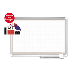 MasterVision - MasterVision 36 x 24 in. All-Purpose Planner Dry Erase Board - BVCGA03107830A - Shop for Dry Erase Boards from Hayneedle.com! Use the MasterVision 36 x 24 in. All-Purpose Planner Dry Erase Board and add ease and efficiency to your planning and presentation schedules. The dry erase gridded surface of this board is resistant to scratching and ghosting which adds to its convenience. This all-purpose planner includes a sliding pen tray and an accessory pack comprising magnetic shapes and 25 card holders. High-quality aluminum construction makes the board s frame sturdy and long lasting.About United StationersDedicated to making life in the office more organized efficient and easier United Stationers offers a wide variety of storage and organizational solutions for any business setting. With premium products specifically designed with the modern office in mind we're certain you will find the solution you are looking for.From rolling file carts to stationary wall files every product in the United Stations line is designed with one simple goal: to improve office efficiency. In turn you will find increased productivity happier more organized employees and an office setting that simply runs better with the ultimate goal of increasing bottom line profits.