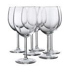 Åsa Gray - SVALKA Red wine glass - Red wine glass, clear glass