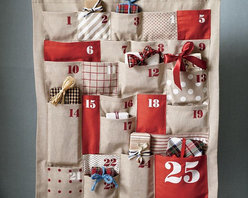 All Shapes and Sizes Countdown Calendar - The large pockets of this one let you fill each day with an extra special gift. Let the kids take a turn each day, or put in presents they can share.
