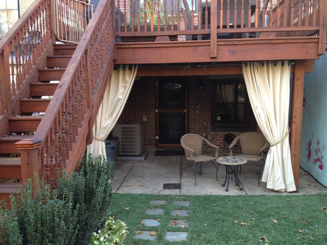 Traditional Patio by Little Miracles Designs