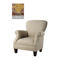 Home Decorators Collection - Custom Kenter Classic Chair - With its classic arm chair shape and dazzling array of fabric options, the Kenter Classic Chair will fit your decor style and decorating budget. Perfect for transitional design styles, this arm chair strikes just the right balance between customization and affordability. Expertly crafted for comfort and long-lasting beauty. Assembled to order in the USA and delivered in approximately 8-10 weeks.