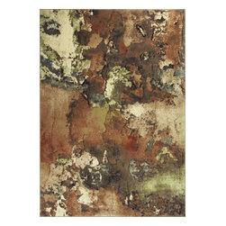 """KAS - KAS Versailles 8559 Watercolors (Multi) 5'3"""" x 7'7"""" Rug - This Machine Loomed rug would make a great addition to any room in the house. The plush feel and durability of this rug will make it a must for your home. Free Shipping - Quick Delivery - Satisfaction Guaranteed"""
