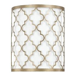 Capital Lighting - Capital Lighting Ellis Transitional Wall Sconce X-665-GB6454 - Capital Lighting Ellis Transitional Wall Sconce X-665-GB6454