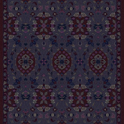 Surya - Surya Mykonos MYK-5001 (Sky blue, Violet) 8' x 11' Rug - This Hand Tufted rug would make a great addition to any room in the house. The plush feel and durability of this rug will make it a must for your home. Free Shipping - Quick Delivery - Satisfaction Guaranteed