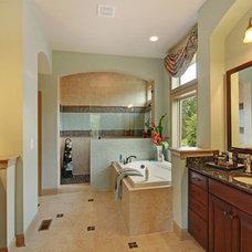 Traditional Bathroom by David Weekley Homes