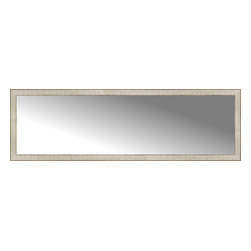 """Posters 2 Prints, LLC - 71"""" x 22"""" Libretto Antique Silver Custom Framed Mirror - 71"""" x 22"""" Custom Framed Mirror made by Posters 2 Prints. Standard glass with unrivaled selection of crafted mirror frames.  Protected with category II safety backing to keep glass fragments together should the mirror be accidentally broken.  Safe arrival guaranteed.  Made in the United States of America"""