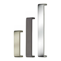 Omnia - Modern Cabinet Pull - The sleekness of Omnia's 9006 Cabinet Pull allows it to look great in almost any décor. Beautifully crafted, this cabinet pull is available in 3 lengths ranging from 4 to 8 inches. It is constructed out of solid brass and is available in satin nickel, polished chrome finishes, and oil-rubbed bronze.