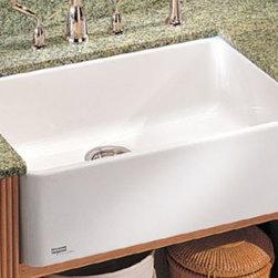 "Franke Fireclay Apron Fronts 28"" Kitchen Sink 19-3/4'' L x 27-5/8'' W x 7-7/8'' - 28"" Kitchen Sink"