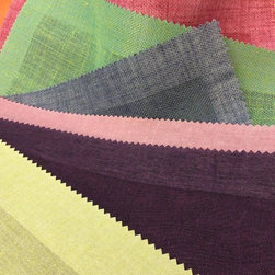 Fabrics - I see Yellow, Purple, Pink, Gray, Green, Red, Orange, Yellow...