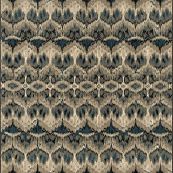 "Loloi Rugs - Loloi Rugs Vista Collection - Taupe / Blue, 3'-9"" x 5'-2"" - Power loomed in Egypt, the Vista Collection offers striking pattern inspired by ethnic textiles. All nine designs share a color palette of desert hues like rust, taupe, and more on a 100% polypropylene fiber for strong durability. Available in six sizes including a scatter and a runner."