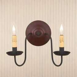 2-Arm Ashford Wall Sconce -