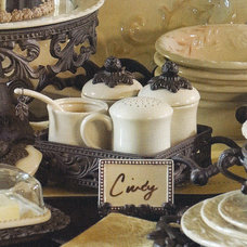 Traditional Serving Bowls by Iron Accents