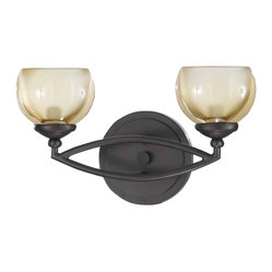 Triarch 25372 Retro Bronze 2 Light Vanity