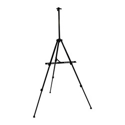 Martin Universal - Martin Universal Aluminum Oxford Large Format Artist Easel - 92-AE014 - Shop for Art Easels from Hayneedle.com! The Martin Aluminum Oxford Artist Large-Format Easel is both beautiful and affordable. The easel legs can be adjusted to fit the needs of an artist who wants to paint standing sitting or even on a table top. The easel folds and fits into its own carrying case. The overall dimensions are 28 x 24.55 x 65 inches at maximum height.