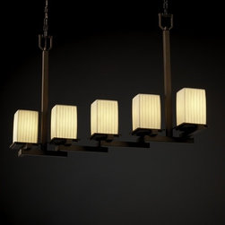 Justice Design Group Limoges Collection Island Light -