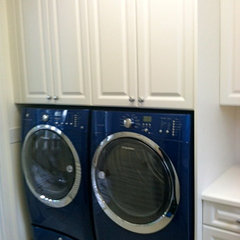 traditional laundry room by NMB Custom Homes and Renovations, LLC