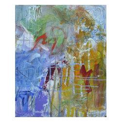 Colorful Haze, Original, Mixed Media - Acrylic, crayons, gels, sparkles
