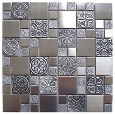Contemporary Accent Trim And Border Tile by Eden Mosaic Tile