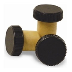 Franmara - Black Colored Pull T-Top Bottle Sealer and Stopper Cap (Set of 1) - This gorgeous Black Colored Pull T-Top Bottle Sealer and Stopper Cap (Set of 1) has the finest details and highest quality you will find anywhere! Black Colored Pull T-Top Bottle Sealer and Stopper Cap (Set of 1) is truly remarkable.