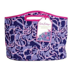 Lilly Pulitzer - Lilly Pulitzer Insulated Beverage Bucket, Booze Cruise - Keep all of your picnic or tailgating necessities cool and refreshing with our Lilly Pulitzer stylish Insulated Beverage Bucket. This bucket even folds flat for convenient storage. Whether beach, back porch, or truckbed you will be the hostess with the mostess as the bottle opener is included, just add ice and drink.