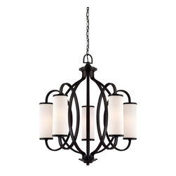 Bellemeade 5 Light Chandelier - 5 Light Chandelier5 Incandescent Candelabra Base (C),each 60 W. Max.