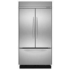 KitchenAid 22.6 cu. ft. Built-In French-Door Bottom Freezer Refrigerator - Appli