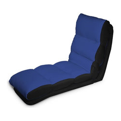 Lifestyle Solutions - Turbo Convertible Chaise Lounger in Blue - Single seat function, Multiple Conversions. Converts from chair to chaise to bed position in seconds. Cover is Tufted and wrapped in polyester blend. No assembly required. Clean with damp cloth. Chaise Lounge: 47.2 in. L x 22 in. W x 32.2 in. H (34.2 lbs). Bed: 69.2 in. L x 22 in. W x 6.6 in. H (34.2 lbs)Cool and contemporary, the Turbo Convertible Chaise Lounger will make a smart and stylish addition to any room. When you sit, recline, or lie flat on this innovative convertible chaise, you'll experience the sweet comfort of soft microfiber upholstery and padded cushioning. It only takes a matter of seconds to adjust the position to fit your mood in the moment. Easily moveable from room to room. Ideal for a kid's room, game room, or dorm room, the Turbo will bring comfort and modern style to any setting. Choose from a wide assortment of colors to match your decor.
