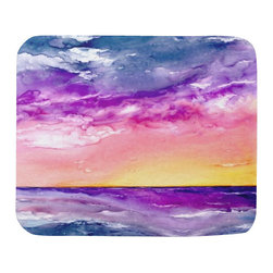 """Brazen Design Studio - Mousepad - Tormenta Ocean Painting - Art for Home - Spice up your desk or work areas with this beautiful and colorful piece of art on a mouse pad! These mouse pads are top-quality and measure approximately 9.25"""" by 7.75"""" and 1/4"""" thick with a rubber base. They are heavy duty and meant to last."""