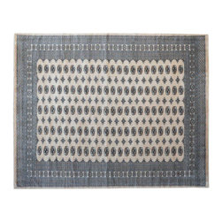 1800 Get A Rug - Turkoman Bokara 100% Wool Beige Hand Knotted Oriental Rug Sh15325 - Our Tribal & Geometric Collection consists of classic rugs woven with geometric patterns based on traditional tribal motifs. You will find Kazak rugs and flat-woven Kilims with centuries-old classic Turkish, Persian, Caucasian and Armenian patterns. The collection also includes the antique, finely-woven Serapi Heriz, the Mamluk Afghan, and the traditional village Persian rug.