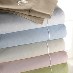 SFERRA - California King Dot Sheet Set - TAUPE (DOT) - SFERRACalifornia King Dot Sheet Set
