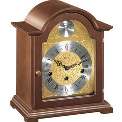 Hermle - Hermle Bethnal Mantel Clock With Key Wind Movement - Traditional and timeless. The Bethnal clock makes a perfect heirloom addition to your home or office.