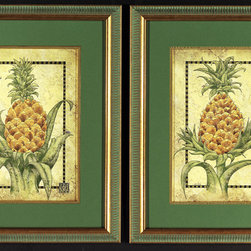 Michelle Woolley - One Coast Design - Medium Pineapples - One Coast Design - These lovely Swarovski embellished pineapple pieces have that unmistakable sparkle and the inimatable Tommy Bahama flair, enjoy the coastal living feel of the Tropics (with or without the sparkle) anywhere you need the feeling of a fresh tropical breeze...Relax!