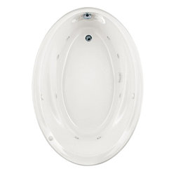 """American Standard - American Standard 2903.048WC.020 Savona Oval EcoSilent Whirlpool,  White - American Standard 2903.048WC.020 Savona Oval EcoSilent Whirlpool,  White. This oval EverClean Whirlpool features an acrylic construction with fiberglass reinforcement, a molded-in backrest with dual integral arm rests, a pre-leveled tub bottom, an EverClean system that inhibits the growth of bacteria, mold, and mildew, a single-speed pump/motor, a deck-mounted air switch (on/off), 2 silent air volume controls, a quick connect Safe-T-Heater connection system (heater sold separately), and 8 multi-directional and flow adjustable jets. This model measures 60"""" by 42-1/4"""" by 21-1/4"""", and comes with an ultra-quiet, ultra-efficient EcoSilent pump."""