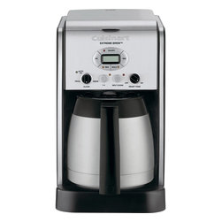 Cuisinart - Cuisinart 10-Cup Programmable Thermal Coffeemaker - Extreme Brew feature uses re-engineered brewing technology to deliver coffee up to 25% faster
