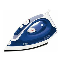 T-Fal/Wearever - Prima Nonstick Iron Blue - Blue. 3 way auto off. Non-stick soleplate. Anti-scale system. Anti-drip