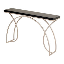 """Monarch 55"""" Console by Charleston Forge - Dimensions:"""