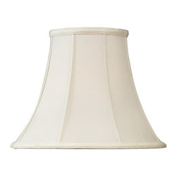 Home Concept - Bell Shantung Lamp Shade - Beige 8x16x12 - Home Concept Signature Shades feature the finest premium shantung fabric.