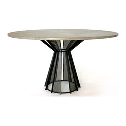 DeWulf - DeWulf James DeWulf Harvest Dining Tables - About Concrete: